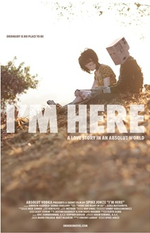 Poster I'm Here