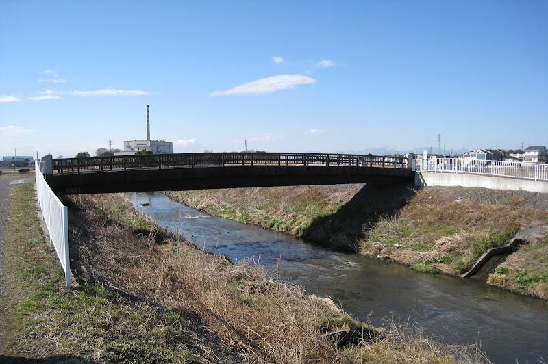 目久尻川 久保田橋