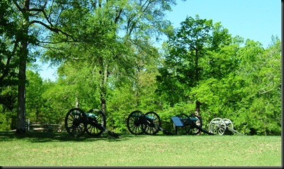 Federal battery at Shiloh