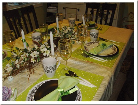 A SPRING TABLE 007