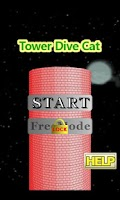 Screenshot of Tower Dive Cat