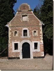 Ordingen: barokkapel van het Heilig Kruis (1625-1640), gerestaureed 1772-1776, voormalig bezit van de Duitse Orde