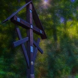 Fairytale with Cross  by Agatanghel Alexoaei - Digital Art Places