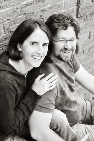 Karen and Neil3bw