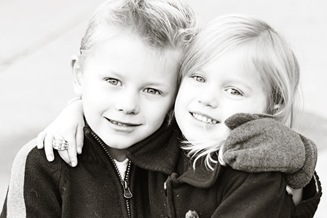 siblings bw