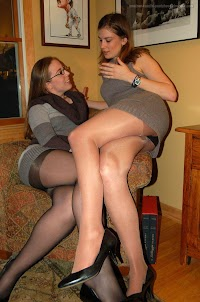 pantyhose Candid photos amateur