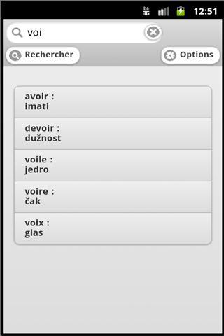 Traducteur FR-CROATE offline
