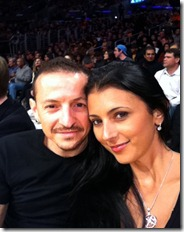 Chester y Talinda Bennington