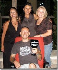 Samantha, Elka, Talinda y Chester Bennigton linkinsoldiers.com