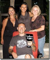 Samantha, Elka, Talinda y Chester Bennigton linkinsoldiers.com