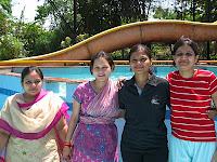 Fab 4: Payal, Komal, Maitri, Deval