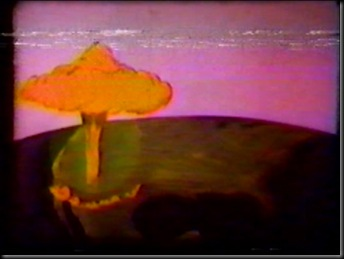 Mushroom Cloud on Map