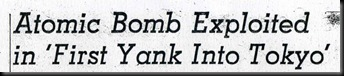 Lo-LAT-Atomic Bomb Exploited