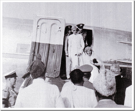 Quaid-e-Azam arrives in Pakistan