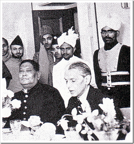 Quaid-e-Azam  with A K Fazlul Haq