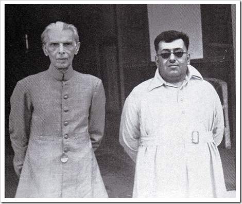 Quaid-e-Azam  with the Khan of Kalat