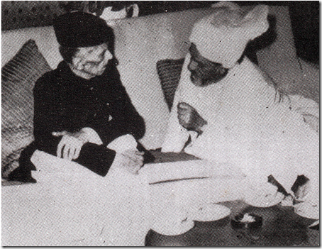 Quaid-e-Azam  with Nawab Jogezai in Quetta