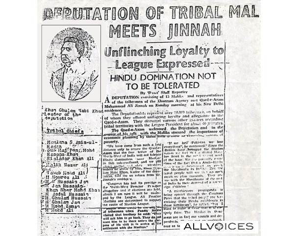 [A newspaperreport before the foundation of Pakistan when tribal delegation fromKurram fata meet Quaid e Azam in delihi.[5].jpg]