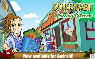Screenshot of Diner Dash Grilling Green