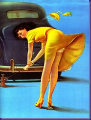 Classic Pin-Ups #1 - Seite 32 - Art Frahm - Double trouble (1940)