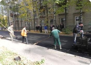 Ударный месяц по дорожному ремонту 360 улиц и дворов