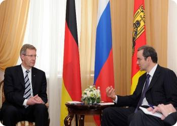 Визит президента Германии в Тверь