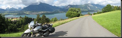 European motorcycle tour