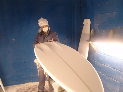 "Tim Stafford custom surfboards - 6'6"" bat tail bonzer EVO3"