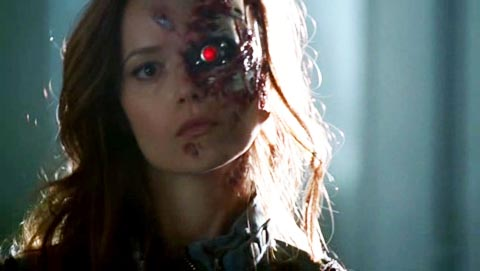 Summer Glau terminator damaged