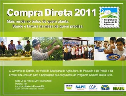 Compra Direta 2011 - Convite
