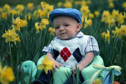 Calvin's First Easter - for blog 18