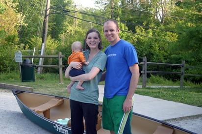 1st Canoe Trip 5
