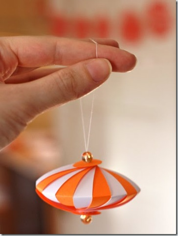 How about orange - ornament