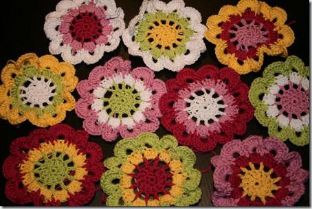 pysselsara - blommor