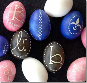 design sponge - eggs