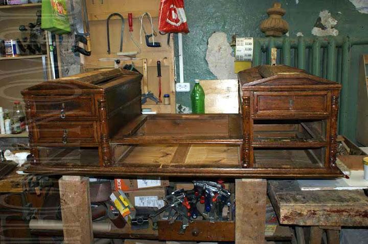 Реставрация письменного стола петербург