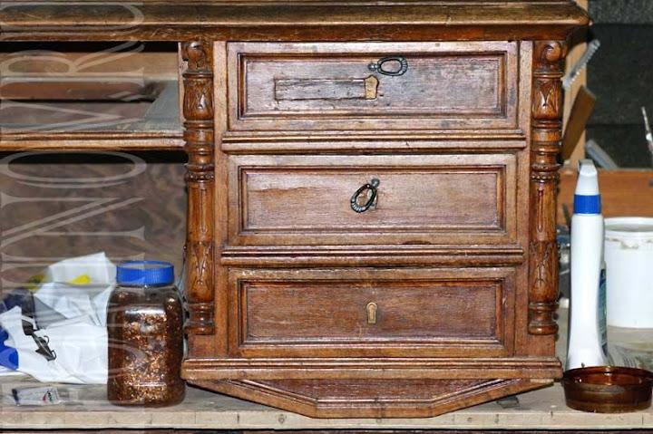 реставрация ящиков и фурнитуры, реставратор мебели илья фоминов