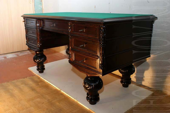 антикварный стол, реставрационная мастерская, портфолио реставратора мебели, антиквариат