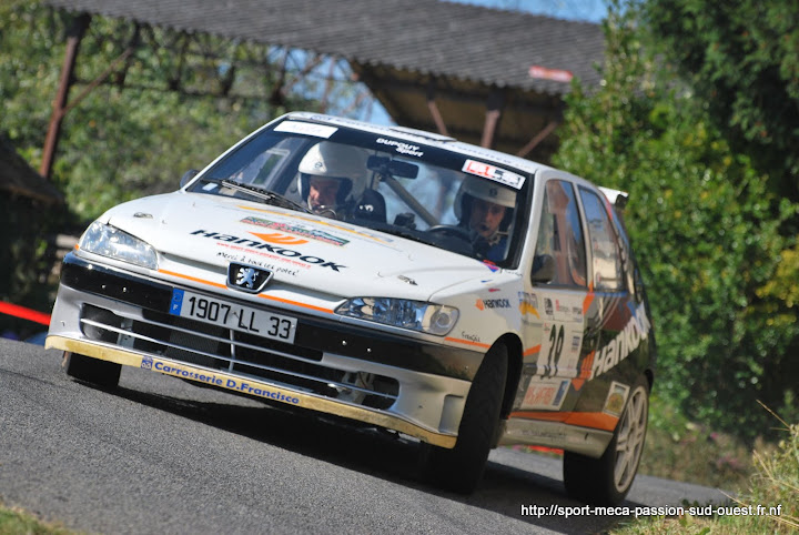 Yohan DUPOUY / Bruno CAMPANER  - 306 S16 F2/14 Rallye%20du%20Pays%20de%20Saint-Yrieix%202010%20473