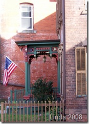 Porch & Flag