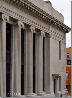 Side of the Chelsea Groton Savings Bank