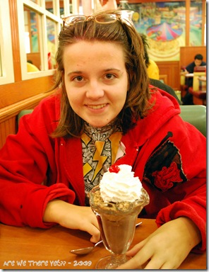 Jamie & ice cream
