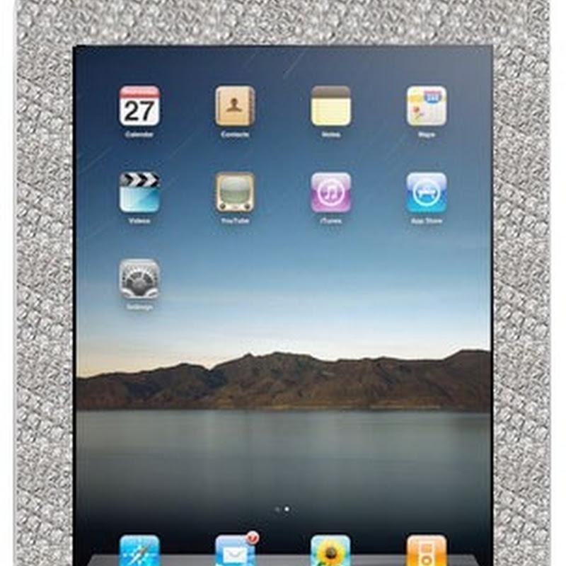 iPad recubierto de diamantes (Empezando a ahorrar…)