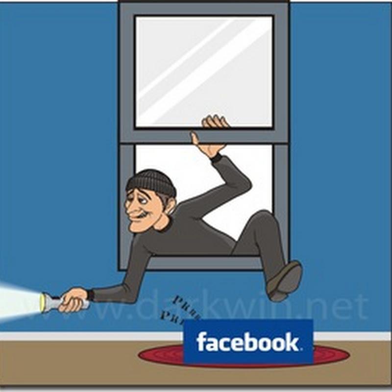 Ladrón capturado por Facebook
