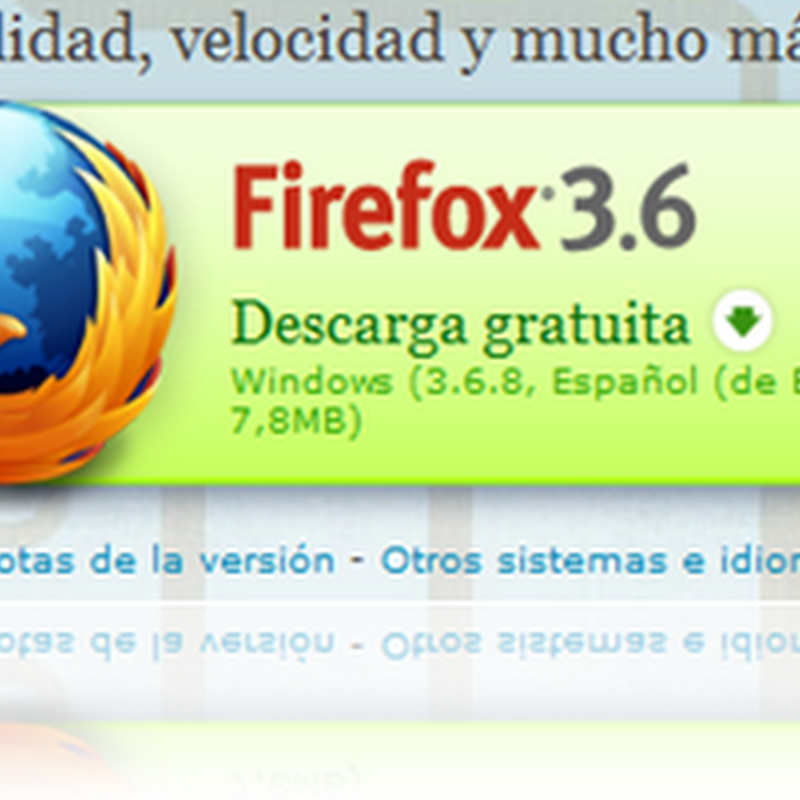 Actualizacion de Firefox 3.6.8