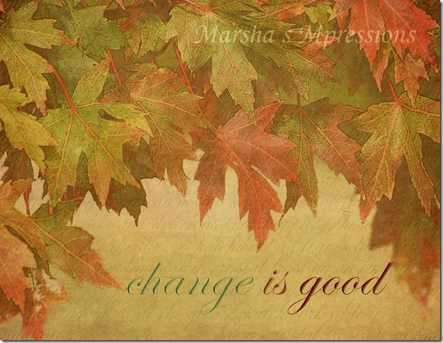 cascade of leaves poster edges with words-tka autumn gold watermark