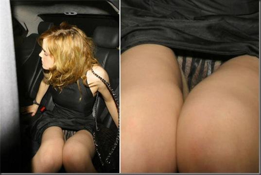 Emma Watson tanga transparente