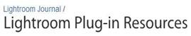 Lightroom Plug ins