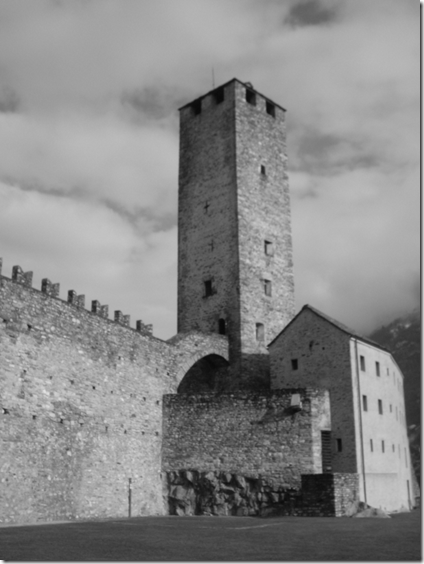 Castelgrande a Bellinzona