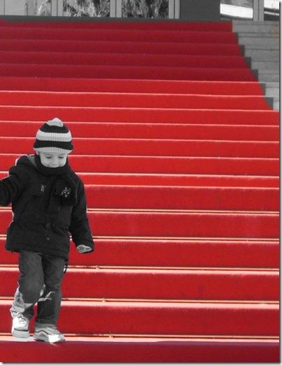Aj al Palzzo del festival di Cannes